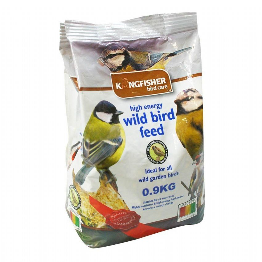 Wild Bird Seeds For Garden Birds Bag Kingfisher Bird Care 1kg
